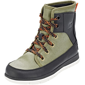 Sorel Expl**** 1964 Boots Women Hiker Green/Black